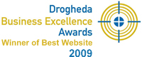 Drogheda Business Excellence Award 2009 - Winner of Best Website